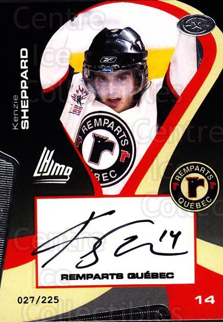 2005-06 Quebec Remparts Autographed #9 Kenzie Sheppard<br/>2 In Stock - $5.00 each - <a href=https://centericecollectibles.foxycart.com/cart?name=2005-06%20Quebec%20Remparts%20Autographed%20%239%20Kenzie%20Sheppard...&price=$5.00&code=668983 class=foxycart> Buy it now! </a>