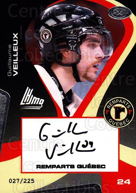 2005-06 Quebec Remparts Autographed #12 Guillaume Veilleux<br/>2 In Stock - $5.00 each - <a href=https://centericecollectibles.foxycart.com/cart?name=2005-06%20Quebec%20Remparts%20Autographed%20%2312%20Guillaume%20Veill...&price=$5.00&code=668986 class=foxycart> Buy it now! </a>
