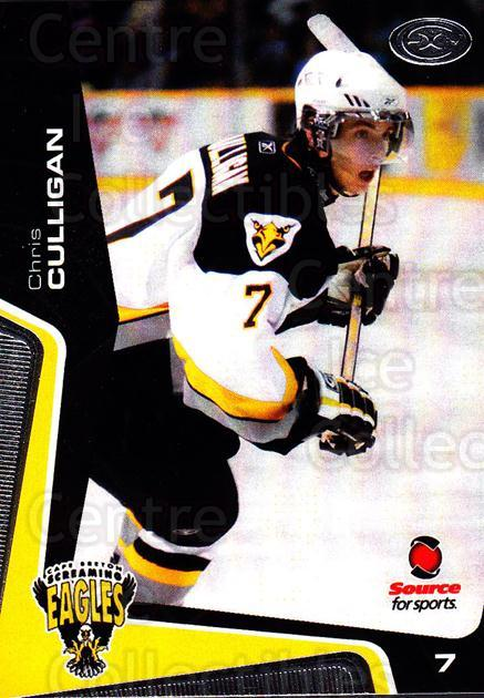 2005-06 Cape Breton Screaming Eagles #6 Chris Culligan<br/>1 In Stock - $3.00 each - <a href=https://centericecollectibles.foxycart.com/cart?name=2005-06%20Cape%20Breton%20Screaming%20Eagles%20%236%20Chris%20Culligan...&price=$3.00&code=669032 class=foxycart> Buy it now! </a>