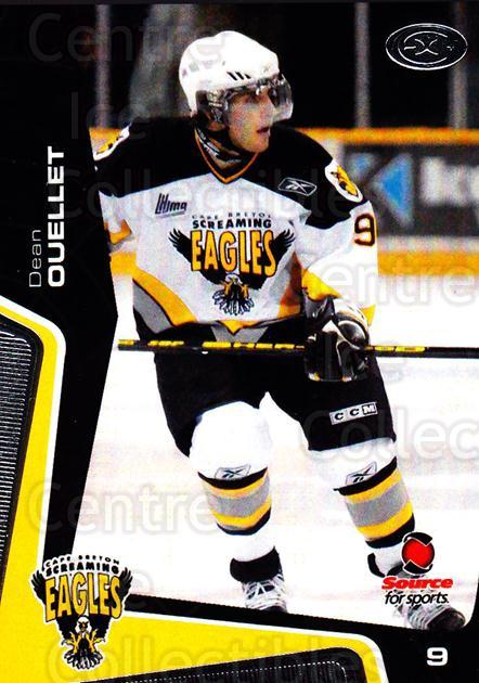 2005-06 Cape Breton Screaming Eagles #8 Dean Ouellet<br/>1 In Stock - $3.00 each - <a href=https://centericecollectibles.foxycart.com/cart?name=2005-06%20Cape%20Breton%20Screaming%20Eagles%20%238%20Dean%20Ouellet...&price=$3.00&code=669034 class=foxycart> Buy it now! </a>