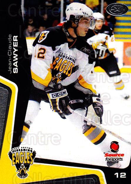 2005-06 Cape Breton Screaming Eagles #11 Jean-Claude Sawyer<br/>1 In Stock - $3.00 each - <a href=https://centericecollectibles.foxycart.com/cart?name=2005-06%20Cape%20Breton%20Screaming%20Eagles%20%2311%20Jean-Claude%20Saw...&price=$3.00&code=669037 class=foxycart> Buy it now! </a>