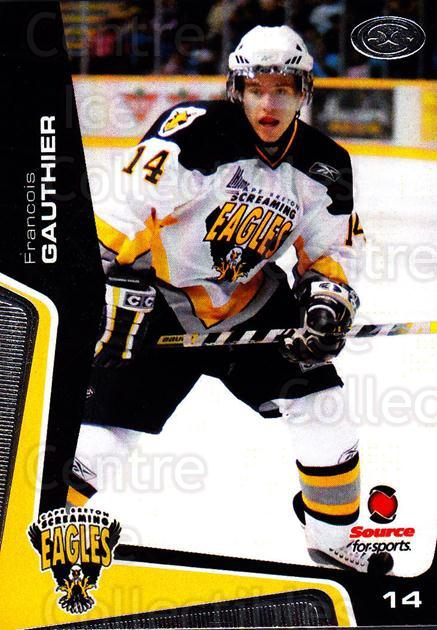 2005-06 Cape Breton Screaming Eagles #12 Francois Gauthier<br/>1 In Stock - $3.00 each - <a href=https://centericecollectibles.foxycart.com/cart?name=2005-06%20Cape%20Breton%20Screaming%20Eagles%20%2312%20Francois%20Gauthi...&price=$3.00&code=669038 class=foxycart> Buy it now! </a>