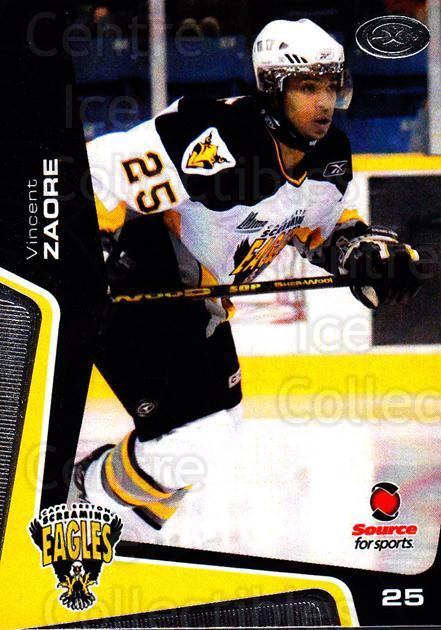 2005-06 Cape Breton Screaming Eagles #21 Vincent Zaore<br/>1 In Stock - $3.00 each - <a href=https://centericecollectibles.foxycart.com/cart?name=2005-06%20Cape%20Breton%20Screaming%20Eagles%20%2321%20Vincent%20Zaore...&price=$3.00&code=669047 class=foxycart> Buy it now! </a>