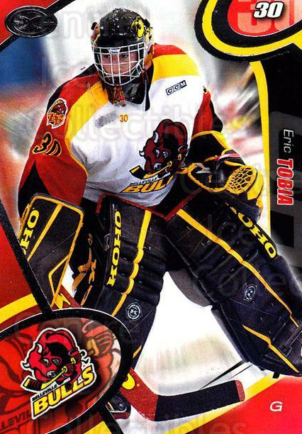 2004-05 Belleville Bulls #6 Eric Tobia<br/>1 In Stock - $3.00 each - <a href=https://centericecollectibles.foxycart.com/cart?name=2004-05%20Belleville%20Bulls%20%236%20Eric%20Tobia...&price=$3.00&code=669066 class=foxycart> Buy it now! </a>