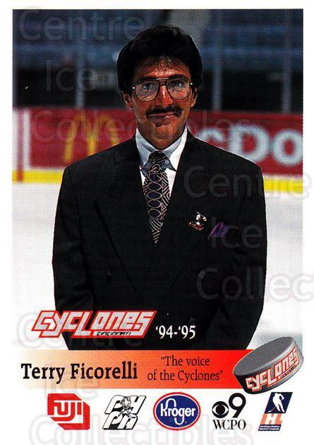 1994-95 Cincinnati Cyclones #10 Terry Ficorelli<br/>1 In Stock - $3.00 each - <a href=https://centericecollectibles.foxycart.com/cart?name=1994-95%20Cincinnati%20Cyclones%20%2310%20Terry%20Ficorelli...&quantity_max=1&price=$3.00&code=669104 class=foxycart> Buy it now! </a>