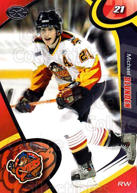 2004-05 Erie Otters #1 Mike Blunden<br/>1 In Stock - $3.00 each - <a href=https://centericecollectibles.foxycart.com/cart?name=2004-05%20Erie%20Otters%20%231%20Mike%20Blunden...&price=$3.00&code=669230 class=foxycart> Buy it now! </a>