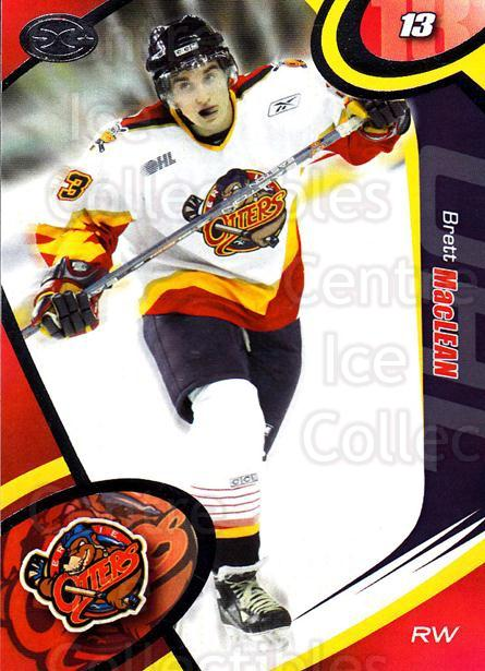 2004-05 Erie Otters #4 Brett MacLean<br/>1 In Stock - $3.00 each - <a href=https://centericecollectibles.foxycart.com/cart?name=2004-05%20Erie%20Otters%20%234%20Brett%20MacLean...&quantity_max=1&price=$3.00&code=669233 class=foxycart> Buy it now! </a>