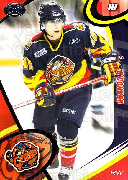 2004-05 Erie Otters #8 Sean O'Connor<br/>1 In Stock - $3.00 each - <a href=https://centericecollectibles.foxycart.com/cart?name=2004-05%20Erie%20Otters%20%238%20Sean%20O'Connor...&price=$3.00&code=669237 class=foxycart> Buy it now! </a>