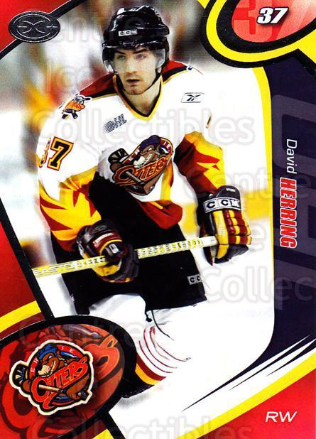 2004-05 Erie Otters #22 David Herring<br/>1 In Stock - $3.00 each - <a href=https://centericecollectibles.foxycart.com/cart?name=2004-05%20Erie%20Otters%20%2322%20David%20Herring...&price=$3.00&code=669251 class=foxycart> Buy it now! </a>