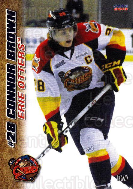 2012-13 Erie Otters #4 Connor Brown<br/>3 In Stock - $3.00 each - <a href=https://centericecollectibles.foxycart.com/cart?name=2012-13%20Erie%20Otters%20%234%20Connor%20Brown...&price=$3.00&code=669258 class=foxycart> Buy it now! </a>