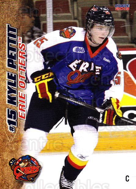 2012-13 Erie Otters #20 Kyle Pettit<br/>7 In Stock - $3.00 each - <a href=https://centericecollectibles.foxycart.com/cart?name=2012-13%20Erie%20Otters%20%2320%20Kyle%20Pettit...&price=$3.00&code=669274 class=foxycart> Buy it now! </a>