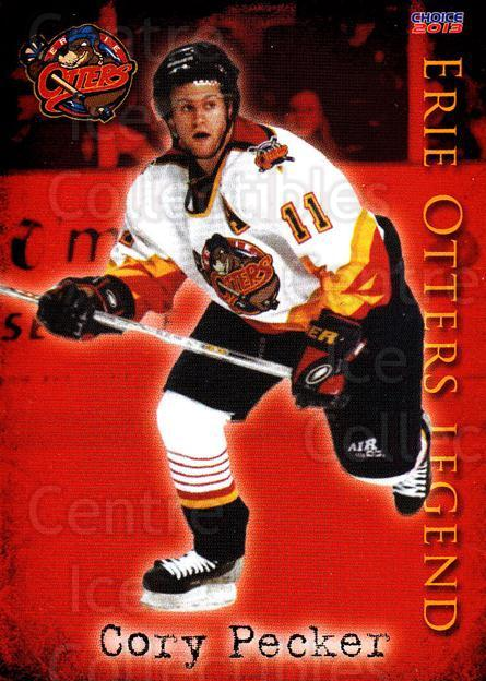 2012-13 Erie Otters #25 Cory Pecker<br/>5 In Stock - $3.00 each - <a href=https://centericecollectibles.foxycart.com/cart?name=2012-13%20Erie%20Otters%20%2325%20Cory%20Pecker...&price=$3.00&code=669279 class=foxycart> Buy it now! </a>