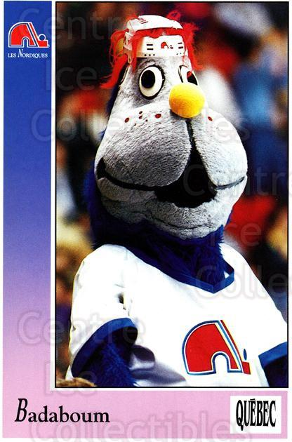 1991-92 Quebec Nordiques Postcards #39 Mascot<br/>1 In Stock - $3.00 each - <a href=https://centericecollectibles.foxycart.com/cart?name=1991-92%20Quebec%20Nordiques%20Postcards%20%2339%20Mascot...&quantity_max=1&price=$3.00&code=669475 class=foxycart> Buy it now! </a>