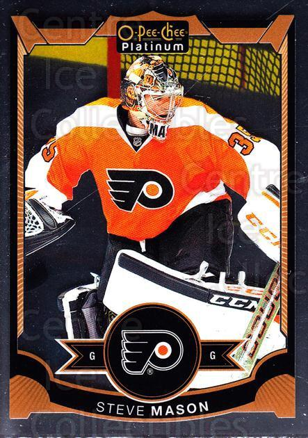 2015-16 O-Pee-Chee Platinum #62 Steve Mason<br/>9 In Stock - $1.00 each - <a href=https://centericecollectibles.foxycart.com/cart?name=2015-16%20O-Pee-Chee%20Platinum%20%2362%20Steve%20Mason...&quantity_max=9&price=$1.00&code=669805 class=foxycart> Buy it now! </a>