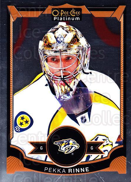 2015-16 O-Pee-Chee Platinum #72 Pekka Rinne<br/>11 In Stock - $1.00 each - <a href=https://centericecollectibles.foxycart.com/cart?name=2015-16%20O-Pee-Chee%20Platinum%20%2372%20Pekka%20Rinne...&quantity_max=11&price=$1.00&code=669815 class=foxycart> Buy it now! </a>