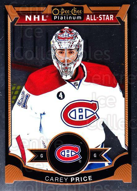 2015-16 O-Pee-Chee Platinum #75 Carey Price<br/>4 In Stock - $3.00 each - <a href=https://centericecollectibles.foxycart.com/cart?name=2015-16%20O-Pee-Chee%20Platinum%20%2375%20Carey%20Price...&price=$3.00&code=669818 class=foxycart> Buy it now! </a>