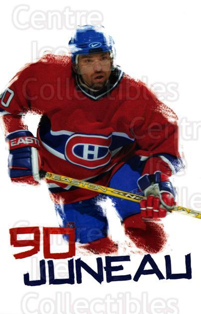 2003-04 Montreal Canadiens Postcards #10 Joe Juneau<br/>1 In Stock - $3.00 each - <a href=https://centericecollectibles.foxycart.com/cart?name=2003-04%20Montreal%20Canadiens%20Postcards%20%2310%20Joe%20Juneau...&quantity_max=1&price=$3.00&code=669943 class=foxycart> Buy it now! </a>