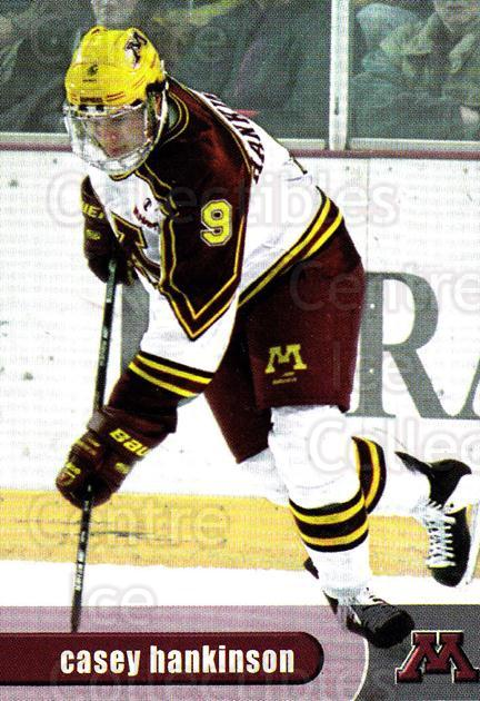 1997-98 Minnesota Golden Gophers #12 Casey Hankinson<br/>1 In Stock - $3.00 each - <a href=https://centericecollectibles.foxycart.com/cart?name=1997-98%20Minnesota%20Golden%20Gophers%20%2312%20Casey%20Hankinson...&quantity_max=1&price=$3.00&code=670006 class=foxycart> Buy it now! </a>