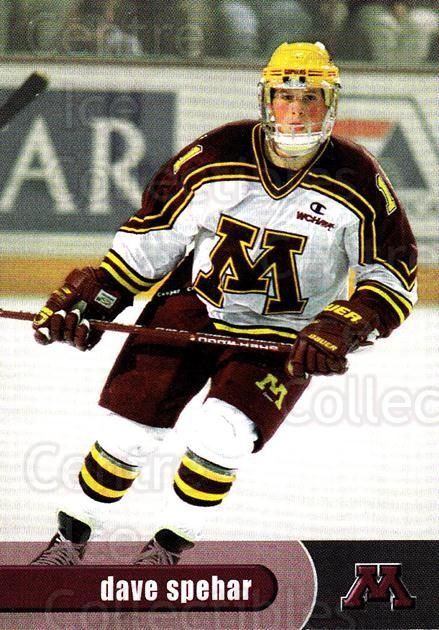 1997-98 Minnesota Golden Gophers #19 Dave Spehar<br/>1 In Stock - $3.00 each - <a href=https://centericecollectibles.foxycart.com/cart?name=1997-98%20Minnesota%20Golden%20Gophers%20%2319%20Dave%20Spehar...&quantity_max=1&price=$3.00&code=670013 class=foxycart> Buy it now! </a>