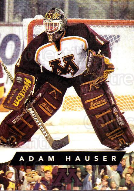 1999-00 Minnesota Golden Gophers #6 Adam Hauser<br/>1 In Stock - $3.00 each - <a href=https://centericecollectibles.foxycart.com/cart?name=1999-00%20Minnesota%20Golden%20Gophers%20%236%20Adam%20Hauser...&quantity_max=1&price=$3.00&code=670026 class=foxycart> Buy it now! </a>