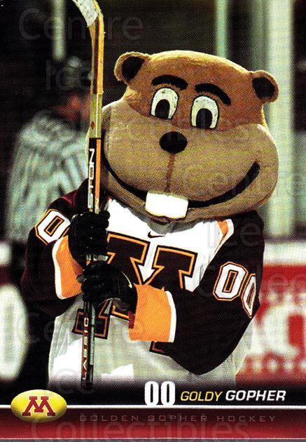 2001-02 Minnesota Golden Gophers #3 Mascot<br/>1 In Stock - $3.00 each - <a href=https://centericecollectibles.foxycart.com/cart?name=2001-02%20Minnesota%20Golden%20Gophers%20%233%20Mascot...&quantity_max=1&price=$3.00&code=670053 class=foxycart> Buy it now! </a>