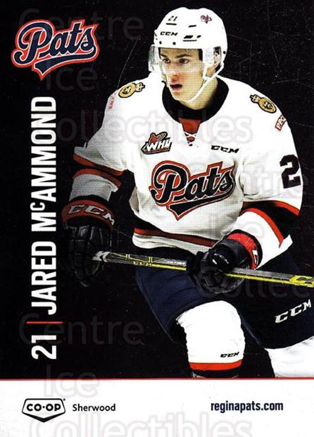 2015-16 Regina Pats #11 Jared McAmmond<br/>1 In Stock - $3.00 each - <a href=https://centericecollectibles.foxycart.com/cart?name=2015-16%20Regina%20Pats%20%2311%20Jared%20McAmmond...&quantity_max=1&price=$3.00&code=670217 class=foxycart> Buy it now! </a>