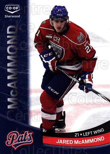 2014-15 Regina Pats #14 Jared McAmmond<br/>1 In Stock - $3.00 each - <a href=https://centericecollectibles.foxycart.com/cart?name=2014-15%20Regina%20Pats%20%2314%20Jared%20McAmmond...&quantity_max=1&price=$3.00&code=670267 class=foxycart> Buy it now! </a>