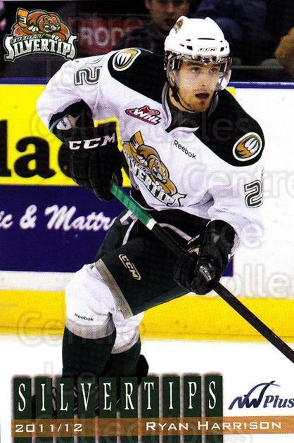 2011-12 Everett Silvertips #12 Ryan Harrison<br/>1 In Stock - $3.00 each - <a href=https://centericecollectibles.foxycart.com/cart?name=2011-12%20Everett%20Silvertips%20%2312%20Ryan%20Harrison...&price=$3.00&code=670287 class=foxycart> Buy it now! </a>