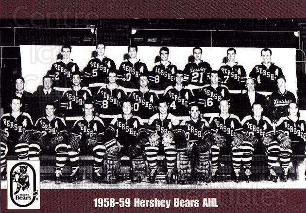 1998-99 Hershey Bears #17 Team Photo, Hershey Bears<br/>1 In Stock - $2.00 each - <a href=https://centericecollectibles.foxycart.com/cart?name=1998-99%20Hershey%20Bears%20%2317%20Team%20Photo,%20Her...&price=$2.00&code=670539 class=foxycart> Buy it now! </a>