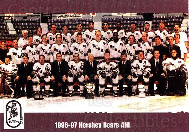 1998-99 Hershey Bears #35 Team Photo, Hershey Bears<br/>1 In Stock - $2.00 each - <a href=https://centericecollectibles.foxycart.com/cart?name=1998-99%20Hershey%20Bears%20%2335%20Team%20Photo,%20Her...&price=$2.00&code=670557 class=foxycart> Buy it now! </a>