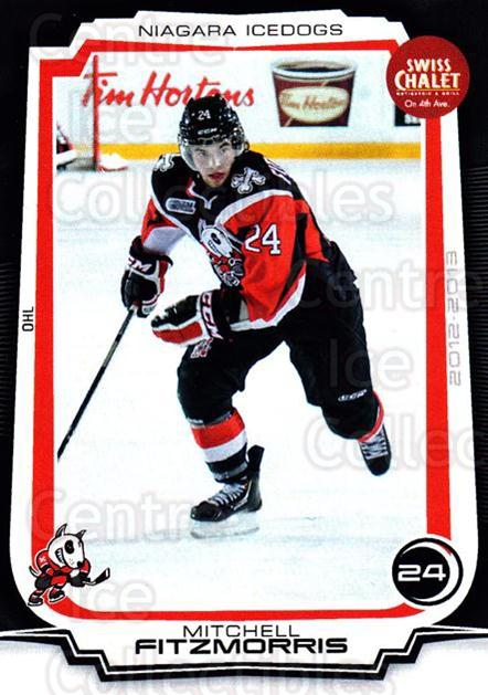 2012-13 Niagara IceDogs #9 Mitchell Fitzmorris<br/>1 In Stock - $3.00 each - <a href=https://centericecollectibles.foxycart.com/cart?name=2012-13%20Niagara%20IceDogs%20%239%20Mitchell%20Fitzmo...&quantity_max=1&price=$3.00&code=670571 class=foxycart> Buy it now! </a>