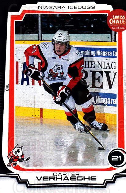 2012-13 Niagara IceDogs #11 Carter Verhaeghe<br/>1 In Stock - $3.00 each - <a href=https://centericecollectibles.foxycart.com/cart?name=2012-13%20Niagara%20IceDogs%20%2311%20Carter%20Verhaegh...&quantity_max=1&price=$3.00&code=670573 class=foxycart> Buy it now! </a>