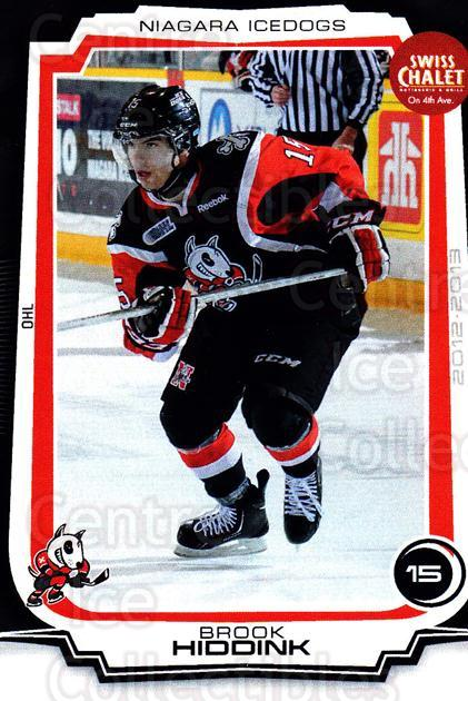2012-13 Niagara IceDogs #17 Brook Hiddink<br/>1 In Stock - $3.00 each - <a href=https://centericecollectibles.foxycart.com/cart?name=2012-13%20Niagara%20IceDogs%20%2317%20Brook%20Hiddink...&price=$3.00&code=670579 class=foxycart> Buy it now! </a>