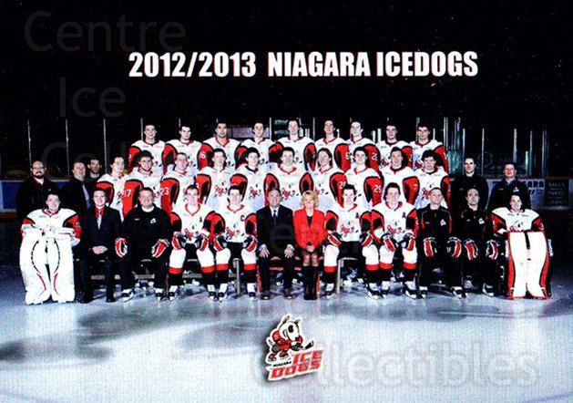 2012-13 Niagara IceDogs #27 Team Photo, Checklist<br/>1 In Stock - $3.00 each - <a href=https://centericecollectibles.foxycart.com/cart?name=2012-13%20Niagara%20IceDogs%20%2327%20Team%20Photo,%20Che...&price=$3.00&code=670589 class=foxycart> Buy it now! </a>