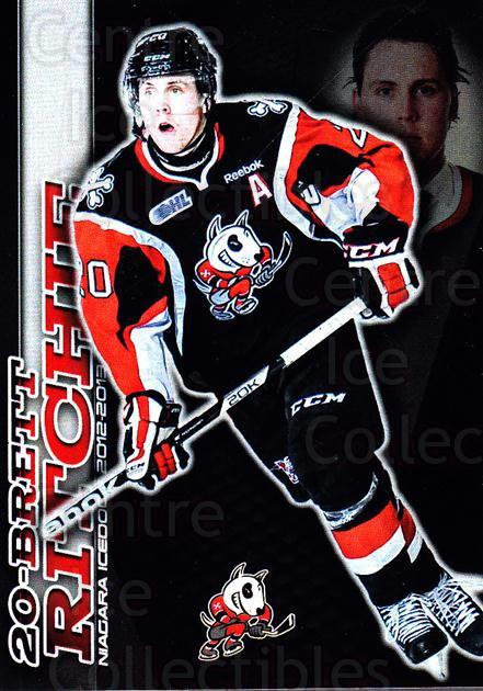 2012-13 Niagara IceDogs #LE1 Brett Ritchie<br/>1 In Stock - $5.00 each - <a href=https://centericecollectibles.foxycart.com/cart?name=2012-13%20Niagara%20IceDogs%20%23LE1%20Brett%20Ritchie...&quantity_max=1&price=$5.00&code=670590 class=foxycart> Buy it now! </a>