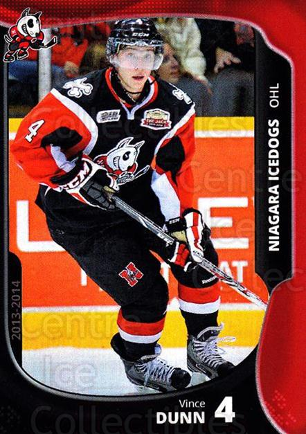 2013-14 Niagara IceDogs #3 Vince Dunn<br/>1 In Stock - $3.00 each - <a href=https://centericecollectibles.foxycart.com/cart?name=2013-14%20Niagara%20IceDogs%20%233%20Vince%20Dunn...&price=$3.00&code=670593 class=foxycart> Buy it now! </a>