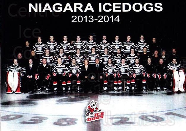 2013-14 Niagara IceDogs #25 Team Photo, Checklist<br/>1 In Stock - $2.00 each - <a href=https://centericecollectibles.foxycart.com/cart?name=2013-14%20Niagara%20IceDogs%20%2325%20Team%20Photo,%20Che...&price=$2.00&code=670615 class=foxycart> Buy it now! </a>