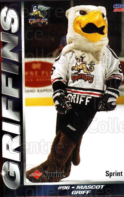 2001-02 Grand Rapids Griffins #26 Mascot<br/>1 In Stock - $3.00 each - <a href=https://centericecollectibles.foxycart.com/cart?name=2001-02%20Grand%20Rapids%20Griffins%20%2326%20Mascot...&quantity_max=1&price=$3.00&code=670772 class=foxycart> Buy it now! </a>