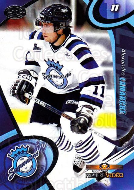 2004-05 Chicoutimi Sagueneens #1 Alexandre Lamarche<br/>1 In Stock - $3.00 each - <a href=https://centericecollectibles.foxycart.com/cart?name=2004-05%20Chicoutimi%20Sagueneens%20%231%20Alexandre%20Lamar...&price=$3.00&code=670806 class=foxycart> Buy it now! </a>