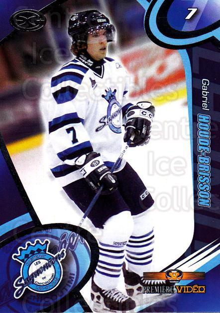 2004-05 Chicoutimi Sagueneens #9 Gabriel Houde-Brisson<br/>1 In Stock - $3.00 each - <a href=https://centericecollectibles.foxycart.com/cart?name=2004-05%20Chicoutimi%20Sagueneens%20%239%20Gabriel%20Houde-B...&price=$3.00&code=670814 class=foxycart> Buy it now! </a>