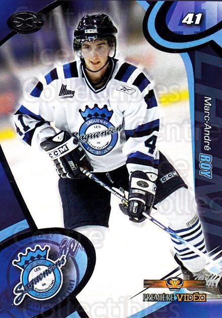 2004-05 Chicoutimi Sagueneens #13 Marc-Andre Roy<br/>1 In Stock - $3.00 each - <a href=https://centericecollectibles.foxycart.com/cart?name=2004-05%20Chicoutimi%20Sagueneens%20%2313%20Marc-Andre%20Roy...&price=$3.00&code=670818 class=foxycart> Buy it now! </a>
