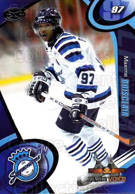 2004-05 Chicoutimi Sagueneens #18 Maxime Boisclair<br/>1 In Stock - $3.00 each - <a href=https://centericecollectibles.foxycart.com/cart?name=2004-05%20Chicoutimi%20Sagueneens%20%2318%20Maxime%20Boisclai...&price=$3.00&code=670823 class=foxycart> Buy it now! </a>