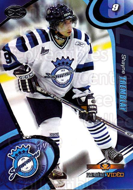 2004-05 Chicoutimi Sagueneens #22 Shayne Tremblay<br/>1 In Stock - $3.00 each - <a href=https://centericecollectibles.foxycart.com/cart?name=2004-05%20Chicoutimi%20Sagueneens%20%2322%20Shayne%20Tremblay...&price=$3.00&code=670827 class=foxycart> Buy it now! </a>