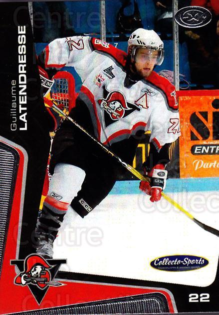 2005-06 Drummondville Voltigeurs #1 Guillaume Latendresse<br/>1 In Stock - $3.00 each - <a href=https://centericecollectibles.foxycart.com/cart?name=2005-06%20Drummondville%20Voltigeurs%20%231%20Guillaume%20Laten...&quantity_max=1&price=$3.00&code=670866 class=foxycart> Buy it now! </a>