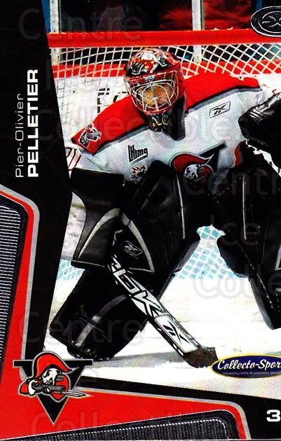 2005-06 Drummondville Voltigeurs #3 Pier-Olivier Pelletier<br/>1 In Stock - $3.00 each - <a href=https://centericecollectibles.foxycart.com/cart?name=2005-06%20Drummondville%20Voltigeurs%20%233%20Pier-Olivier%20Pe...&quantity_max=1&price=$3.00&code=670868 class=foxycart> Buy it now! </a>