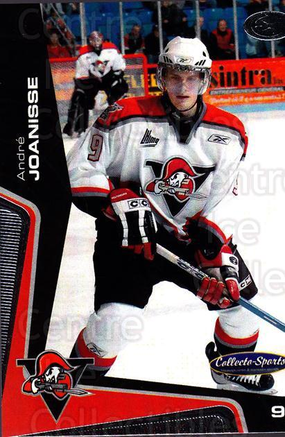 2005-06 Drummondville Voltigeurs #9 Andre Joanisse<br/>1 In Stock - $3.00 each - <a href=https://centericecollectibles.foxycart.com/cart?name=2005-06%20Drummondville%20Voltigeurs%20%239%20Andre%20Joanisse...&price=$3.00&code=670874 class=foxycart> Buy it now! </a>
