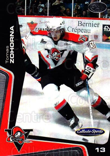 2005-06 Drummondville Voltigeurs #11 Tomas Zohorna<br/>1 In Stock - $3.00 each - <a href=https://centericecollectibles.foxycart.com/cart?name=2005-06%20Drummondville%20Voltigeurs%20%2311%20Tomas%20Zohorna...&price=$3.00&code=670876 class=foxycart> Buy it now! </a>