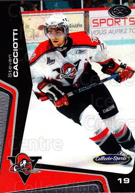 2005-06 Drummondville Voltigeurs #14 Steven Cacciotti<br/>1 In Stock - $3.00 each - <a href=https://centericecollectibles.foxycart.com/cart?name=2005-06%20Drummondville%20Voltigeurs%20%2314%20Steven%20Cacciott...&price=$3.00&code=670879 class=foxycart> Buy it now! </a>