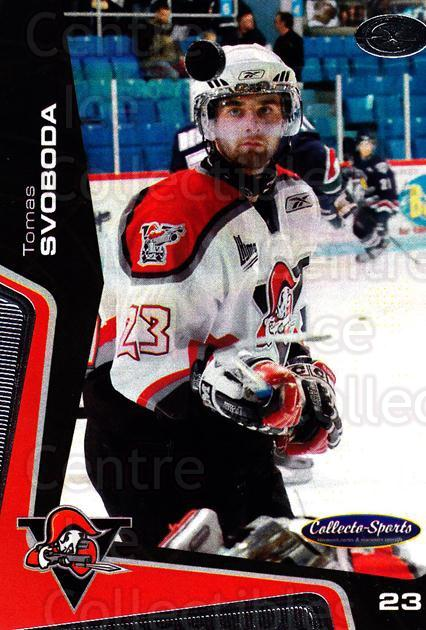 2005-06 Drummondville Voltigeurs #15 Tomas Svoboda<br/>1 In Stock - $3.00 each - <a href=https://centericecollectibles.foxycart.com/cart?name=2005-06%20Drummondville%20Voltigeurs%20%2315%20Tomas%20Svoboda...&quantity_max=1&price=$3.00&code=670880 class=foxycart> Buy it now! </a>