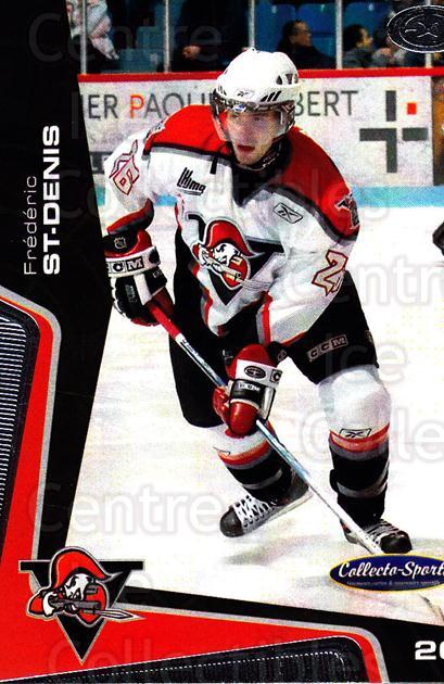 2005-06 Drummondville Voltigeurs #18 Frederic St. Denis<br/>1 In Stock - $3.00 each - <a href=https://centericecollectibles.foxycart.com/cart?name=2005-06%20Drummondville%20Voltigeurs%20%2318%20Frederic%20St.%20De...&price=$3.00&code=670883 class=foxycart> Buy it now! </a>